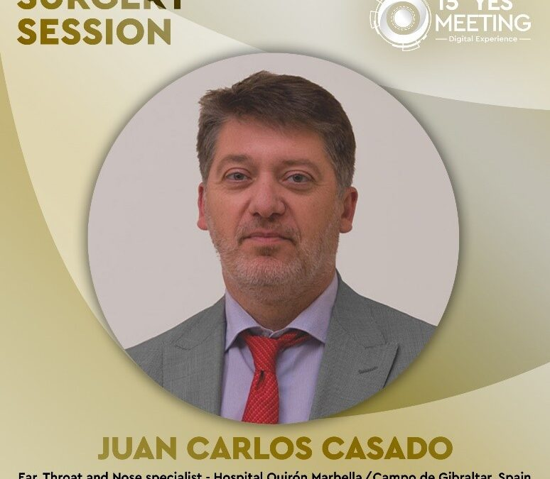 "Dr. Juan Carlos Casado has participated in the 15th edition of ""YES Meeting"""